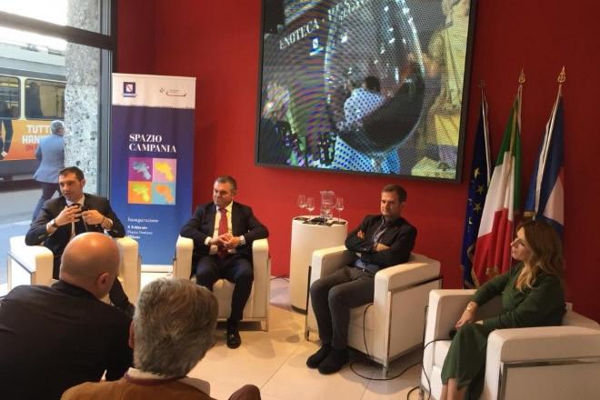 Conferenza stampa La Campania sbarca a Vinitaly 2019