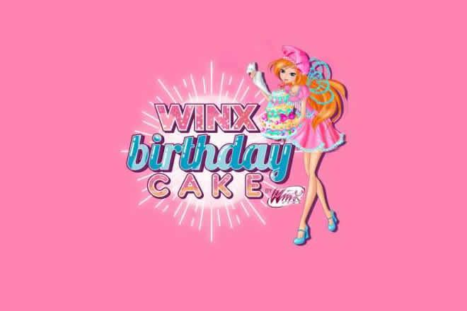 Winx Birthday Cake