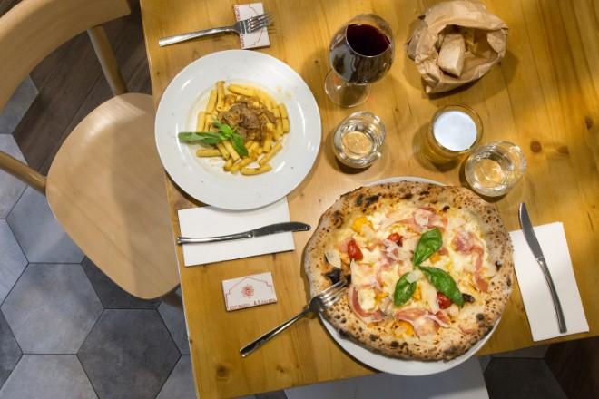 Lombardi a Santa Chiara - La pizza