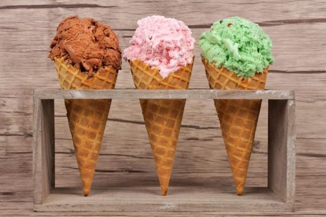 Tre coni per i maestri gelatieri a Napoli