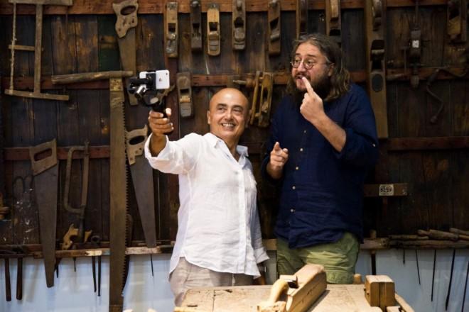 Paolo Cevoli e Roberto Mercadini per Romagnoli DOP