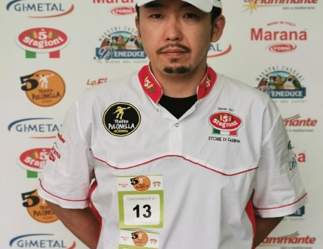 Ken Imai vince Trofeo Pulcinella al Bufala Fest