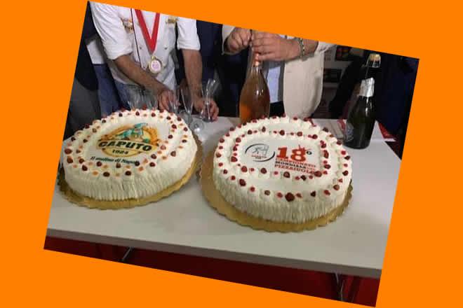 Le torte dell'Associazione Pasticcieri Napoletani al Pizza Village