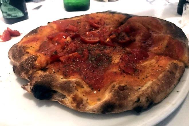 La pizza al ruoto