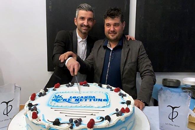Mariano Bruno e Ivano Siano per La locanda Re Nettuno