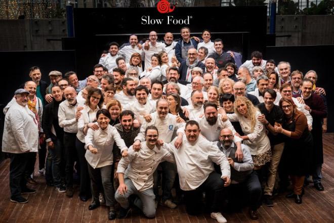 Il gruppo di Slow Food